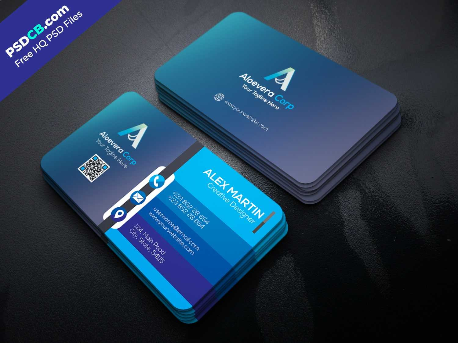 Free Business Card Templates Psd Premium Download Throughout Unique Business Card Templates Free