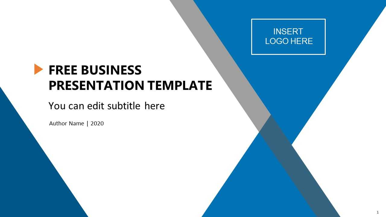 Free Business Presentation Template in Free Powerpoint Presentation Templates Downloads