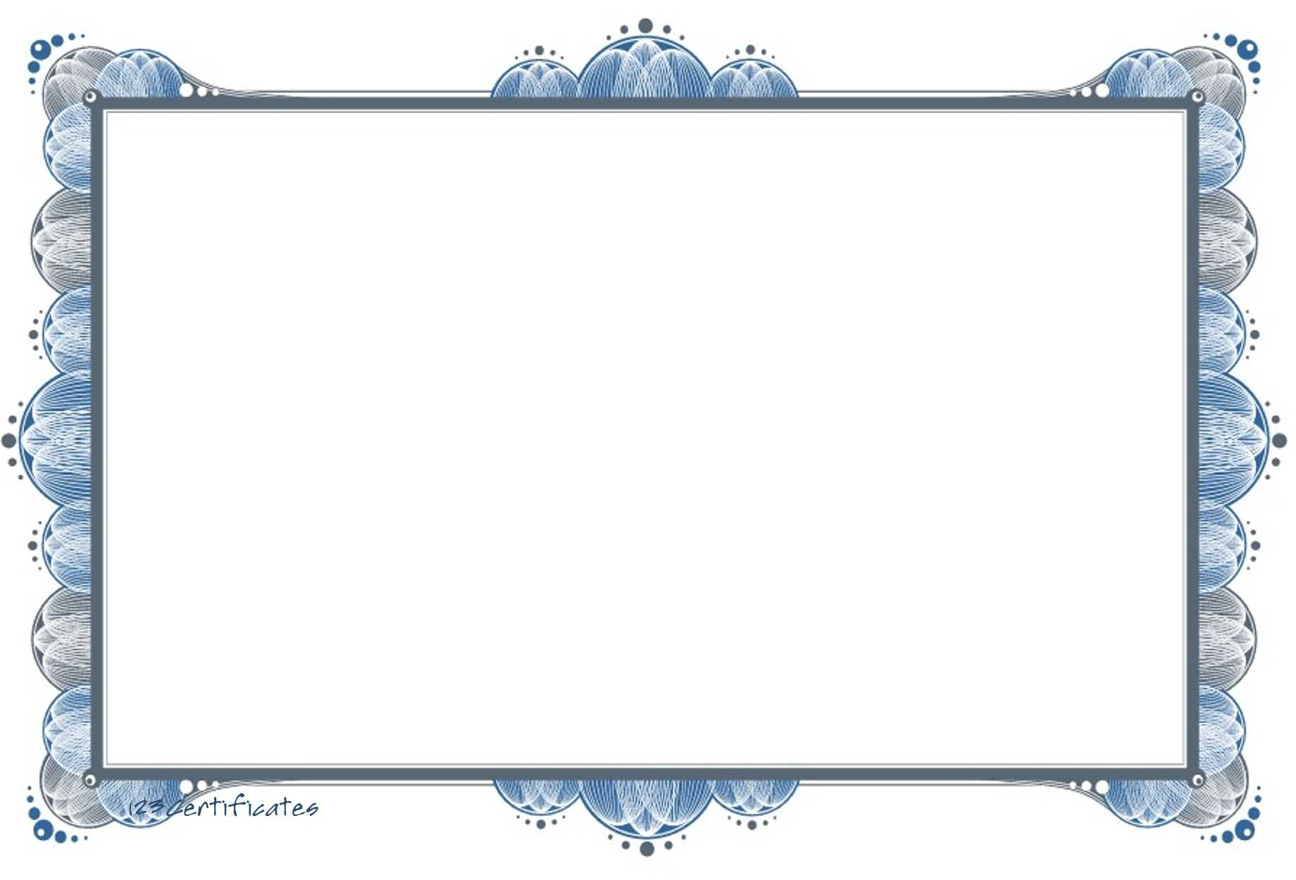 Free Certificate Border, Download Free Clip Art, Free Clip inside Word Border Templates Free Download