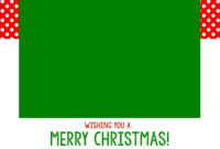 Free Christmas Card Templates – Crazy Little Projects in Print Your Own Christmas Cards Templates