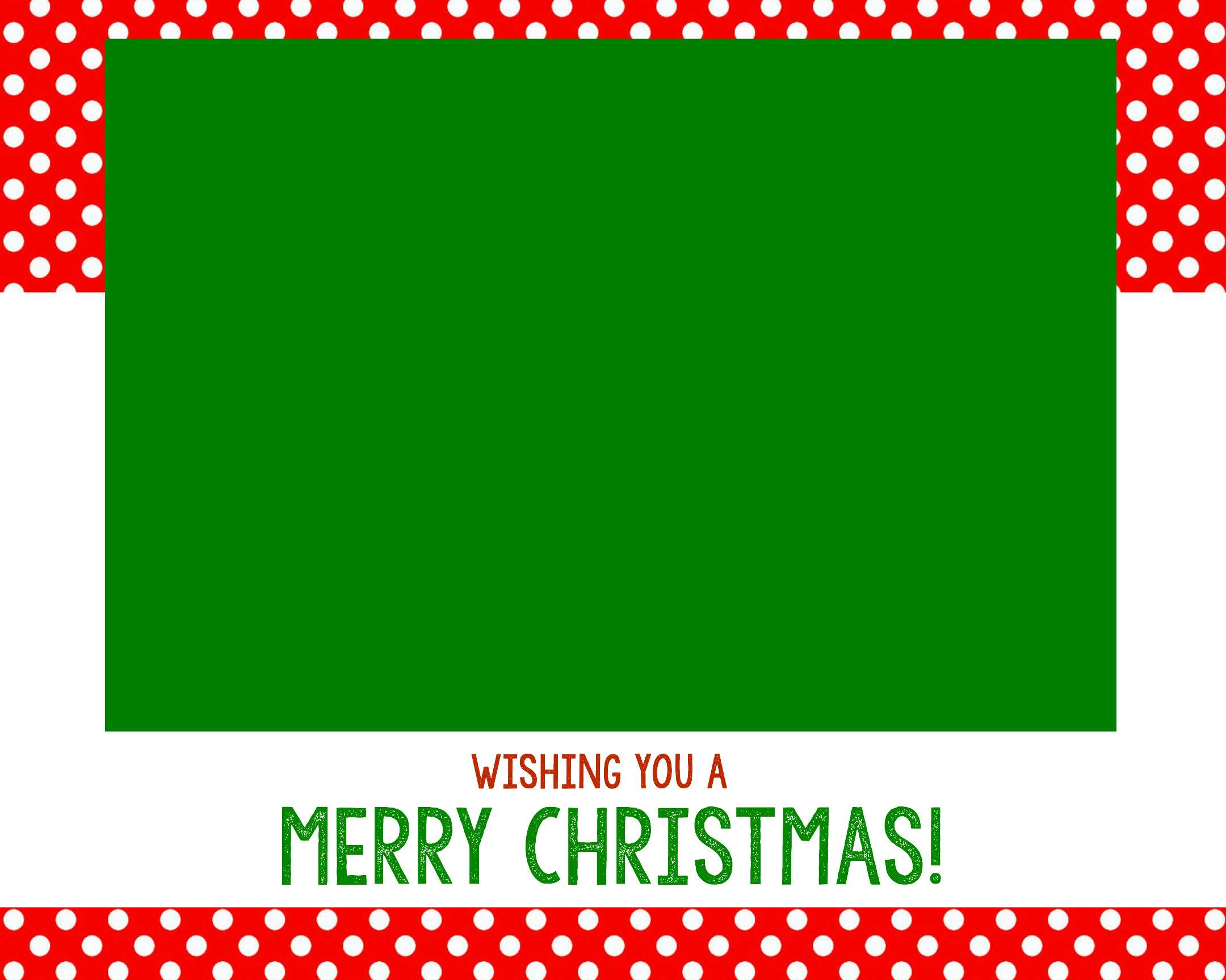 Free Christmas Card Templates - Crazy Little Projects in Print Your Own Christmas Cards Templates