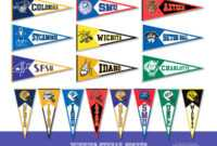 Free College Pennant Cliparts, Download Free Clip Art, Free pertaining to College Banner Template