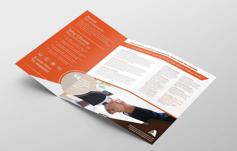 Free Corporate Tri-Fold Brochure Template Vol.2 In Psd, Ai regarding 2 Fold Brochure Template Free