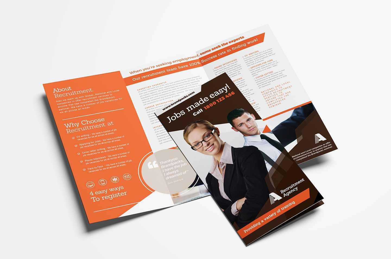Free Corporate Tri-Fold Brochure Template Vol.2 In Psd, Ai throughout 2 Fold Brochure Template Free