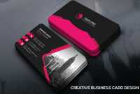 Free Creative Business Card Template – Creativetacos Intended For Unique Business Card Templates Free