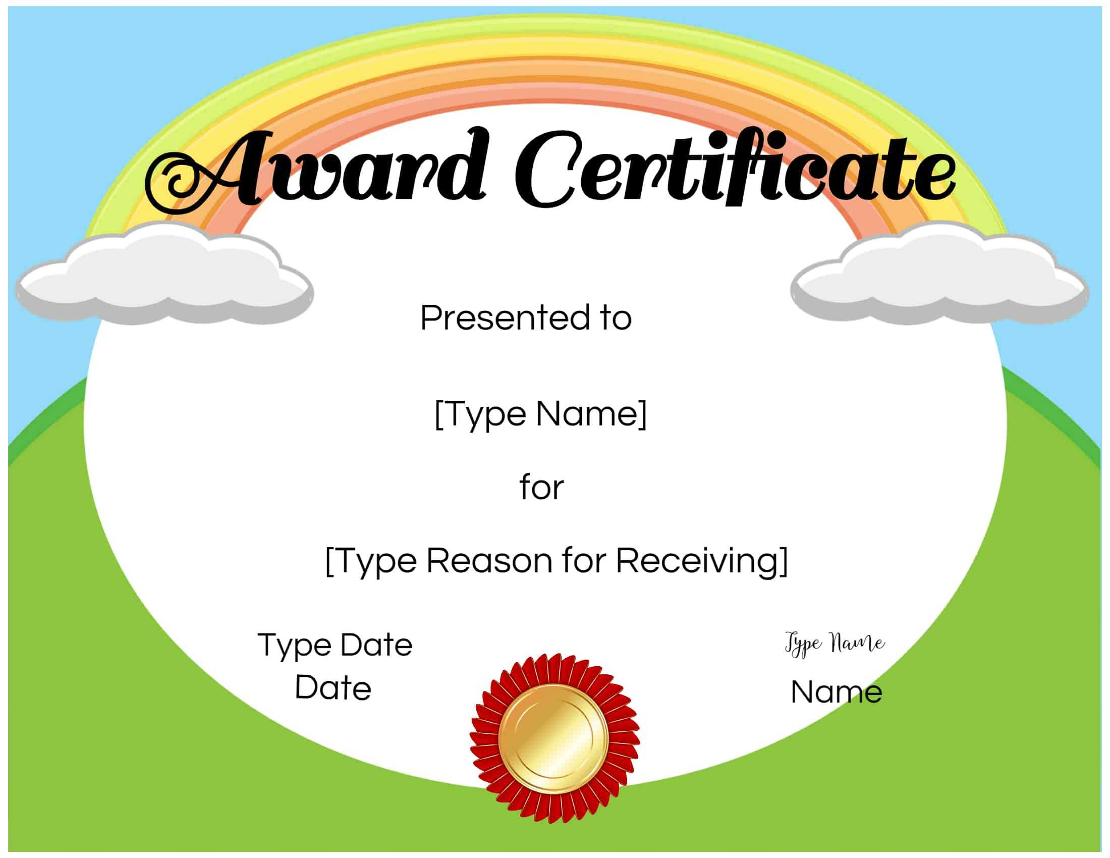 Free Custom Certificates For Kids | Customize Online & Print regarding Free Printable Certificate Templates For Kids
