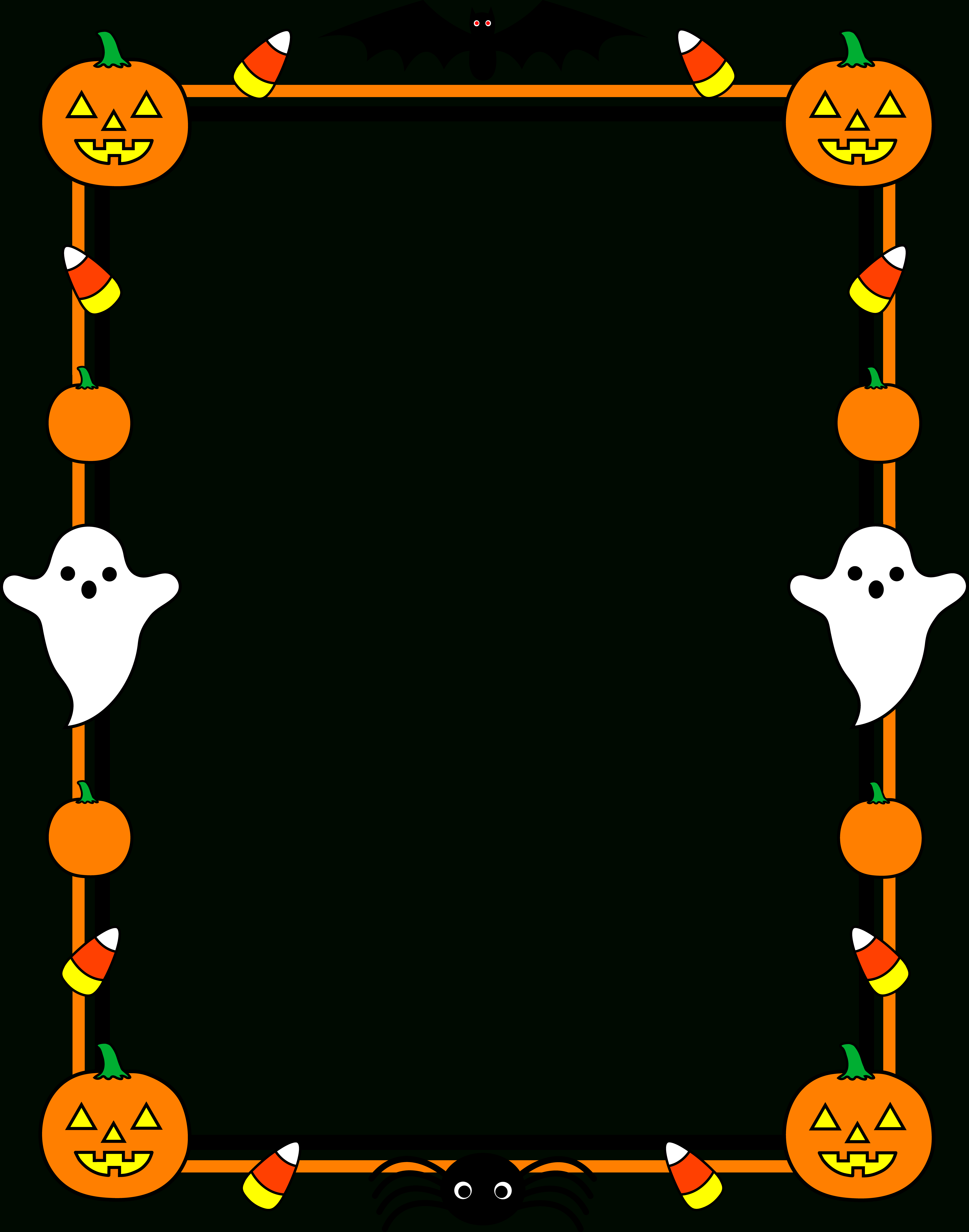 Free Free Printable Halloween Clipart, Download Free Clip regarding Free Halloween Templates For Word