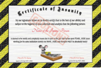 Free Fun And Quirky Certificates At Clevercertificates with Fun Certificate Templates