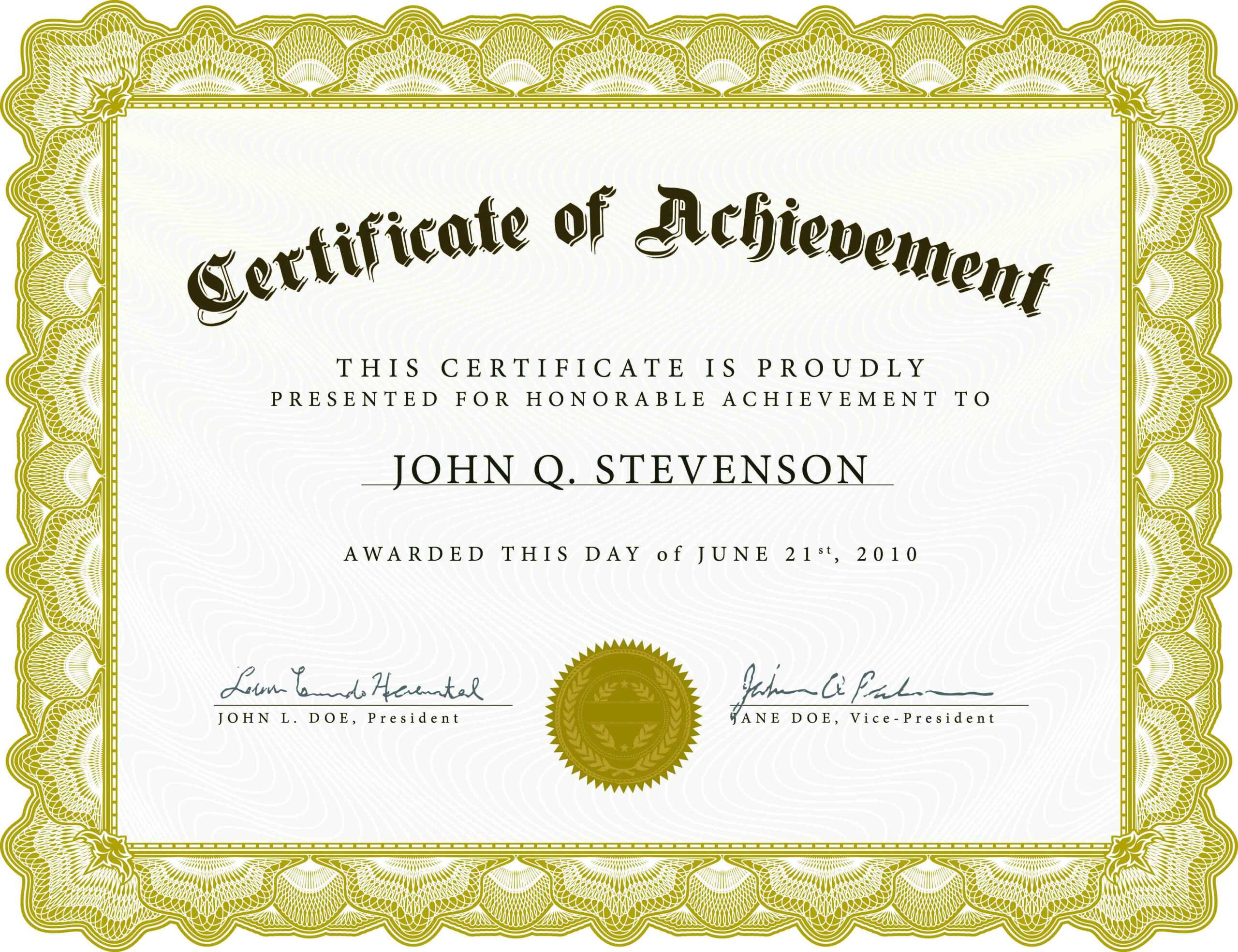 Free Funny Certificate Templates For Word - Atlantaauctionco With Regard To Free Funny Certificate Templates For Word