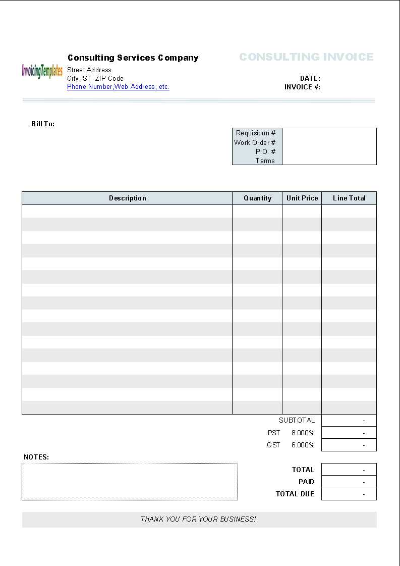Free Invoice Template Word Mac - Atlantaauctionco With Regard To Free Invoice Template Word Mac