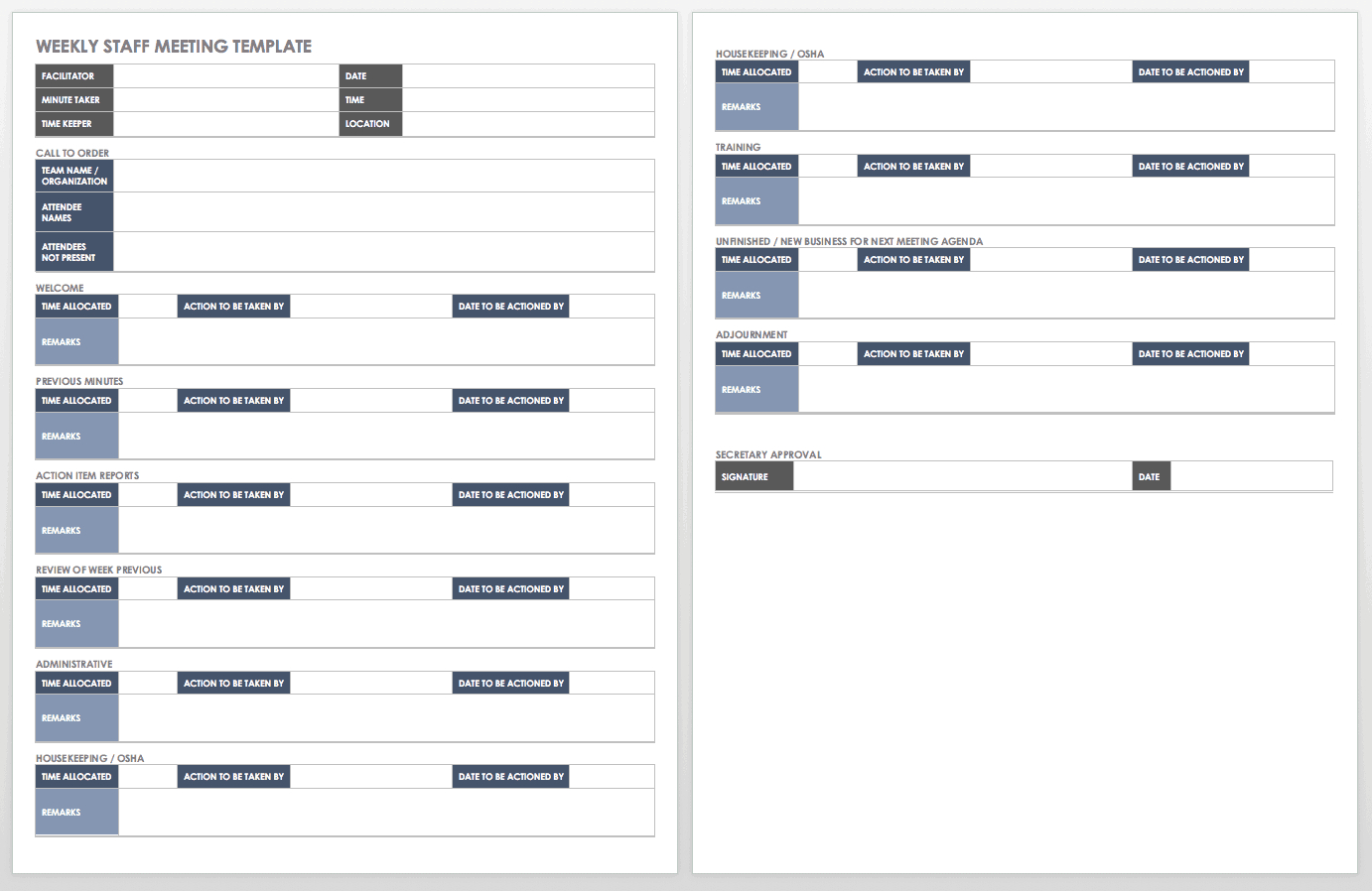 Free Itinerary Templates   Smartsheet for Blank Trip Itinerary Template