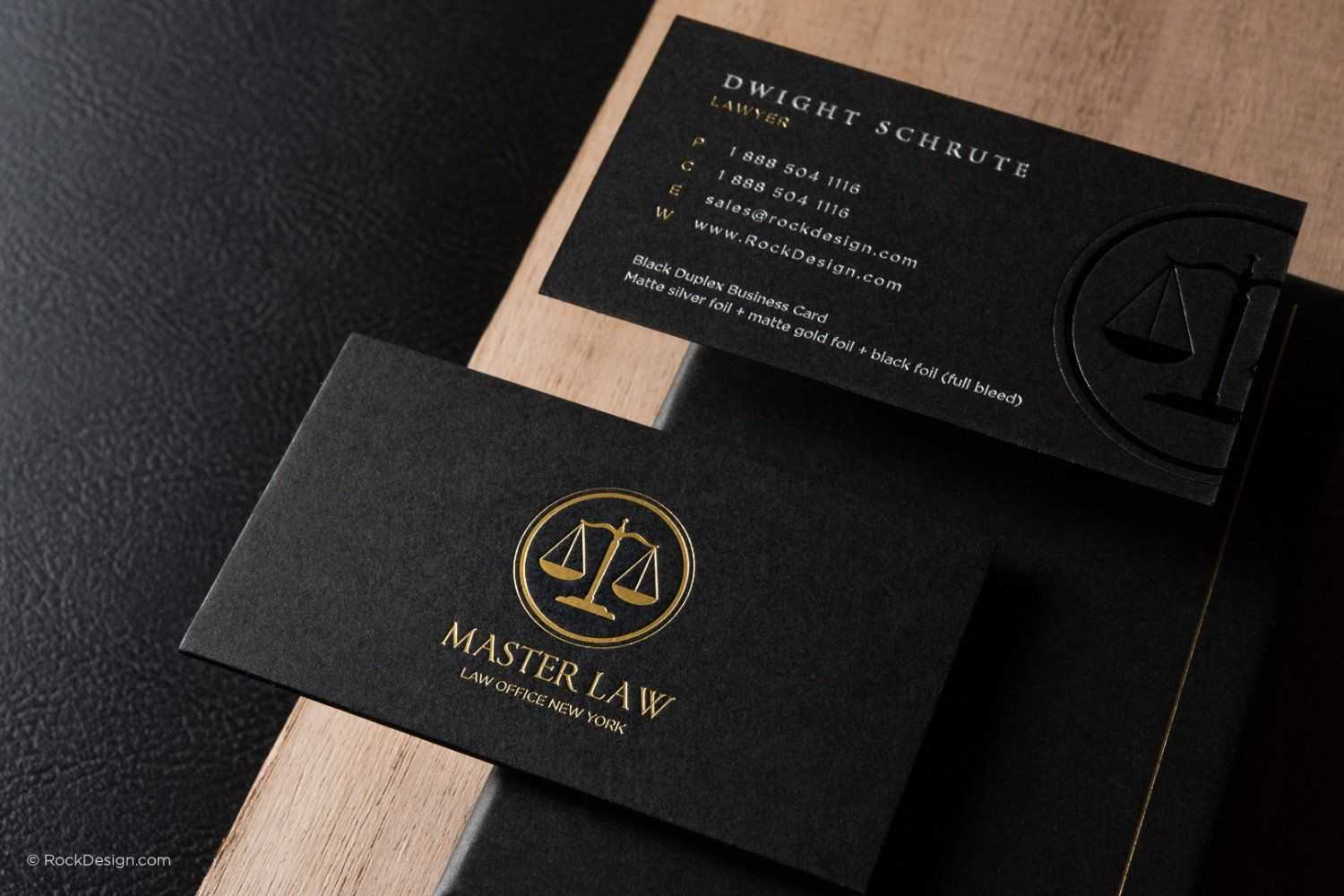 Free Lawyer Business Card Template | Rockdesign | Lawyer intended for Legal Business Cards Templates Free