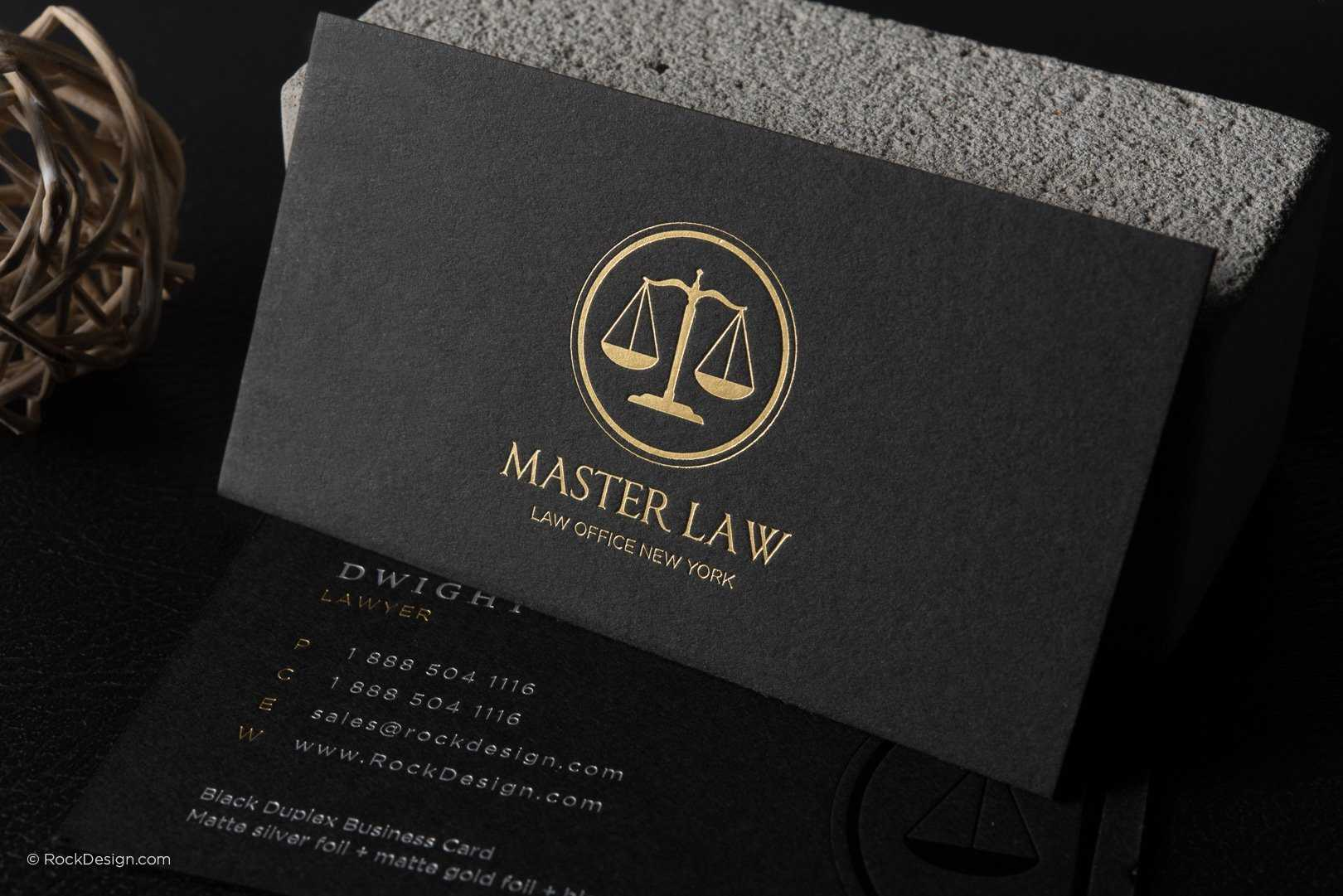 Free Lawyer Business Card Template | Rockdesign pertaining to Legal Business Cards Templates Free