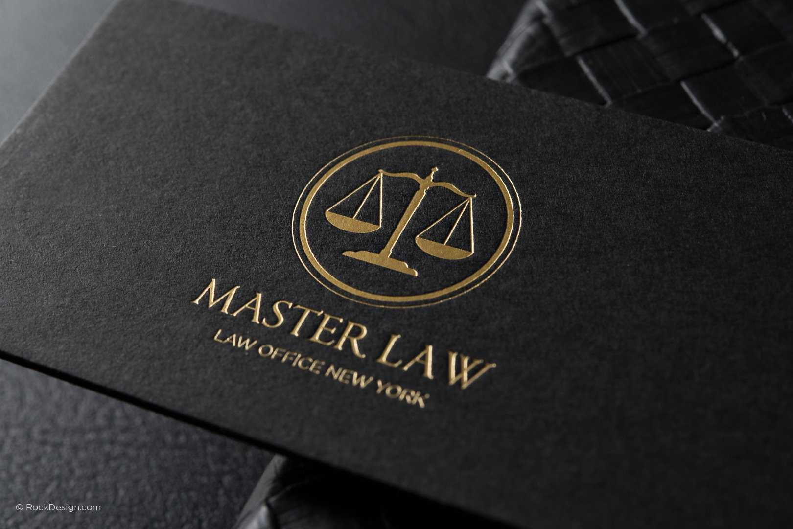 Free Lawyer Business Card Template | Rockdesign With Regard To Legal Business Cards Templates Free