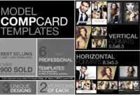 Free Microsoft Word Comp Card Template Model Photoshop Psd throughout Free Comp Card Template