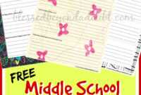Free Middle School Printable Book Report Form! | Middle throughout Book Report Template Middle School