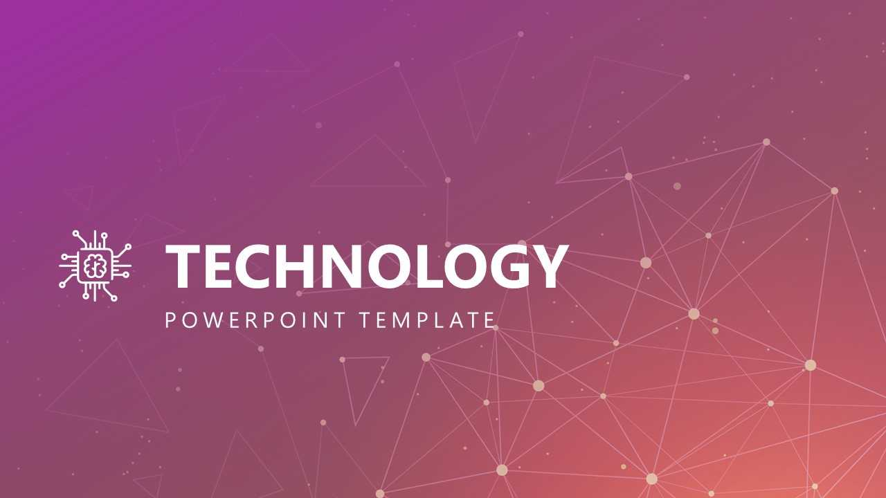 Free Modern Technology Powerpoint Template Intended For High Tech Powerpoint Template