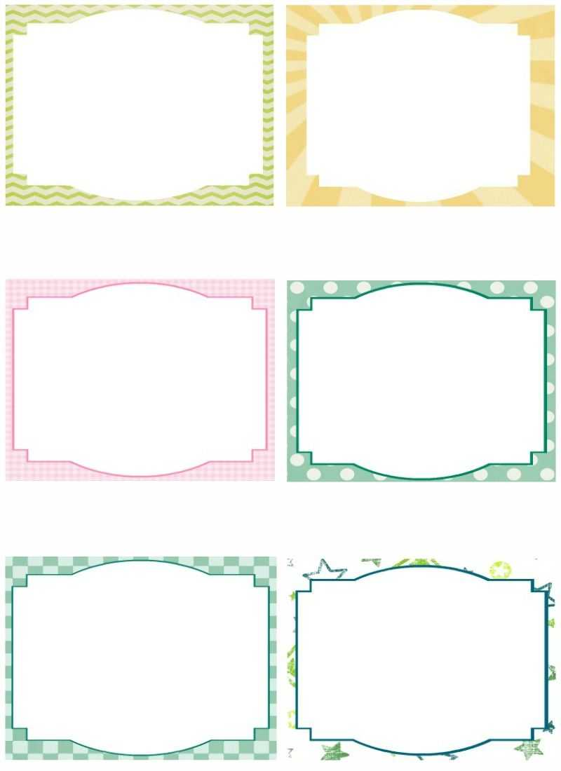 Free Note Card Template. Image Free Printable Blank Flash Inside Blank Index Card Template