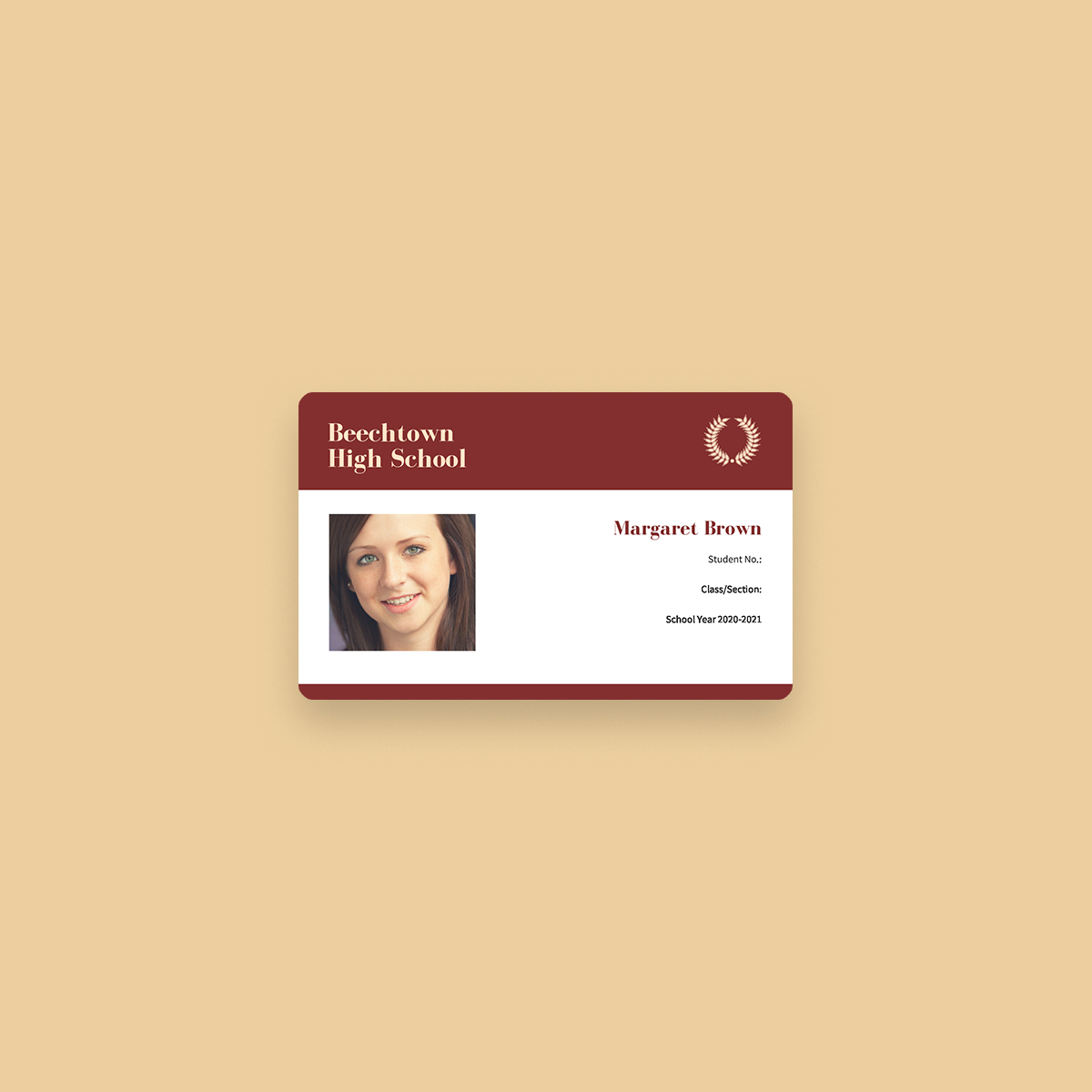 Free Online Id Maker: Design A Custom Id In Canva throughout Teacher Id Card Template