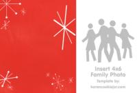 Free Photo Christmas Card Template – Karen Cookie Jar in Blank Christmas Card Templates Free