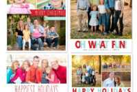 Free Photoshop Holiday Card Templates From Mom And Camera inside Christmas Photo Card Templates Photoshop