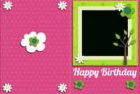 Free Pictures To Print Free   Free Printable Birthday Card intended for Template For Cards To Print Free
