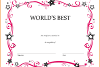 Free Printable Award Certificate Certificates For Elementary within School Certificate Templates Free