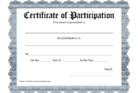 Free Printable Award Certificate Template – Bing Images With Blank Certificate Of Achievement Template