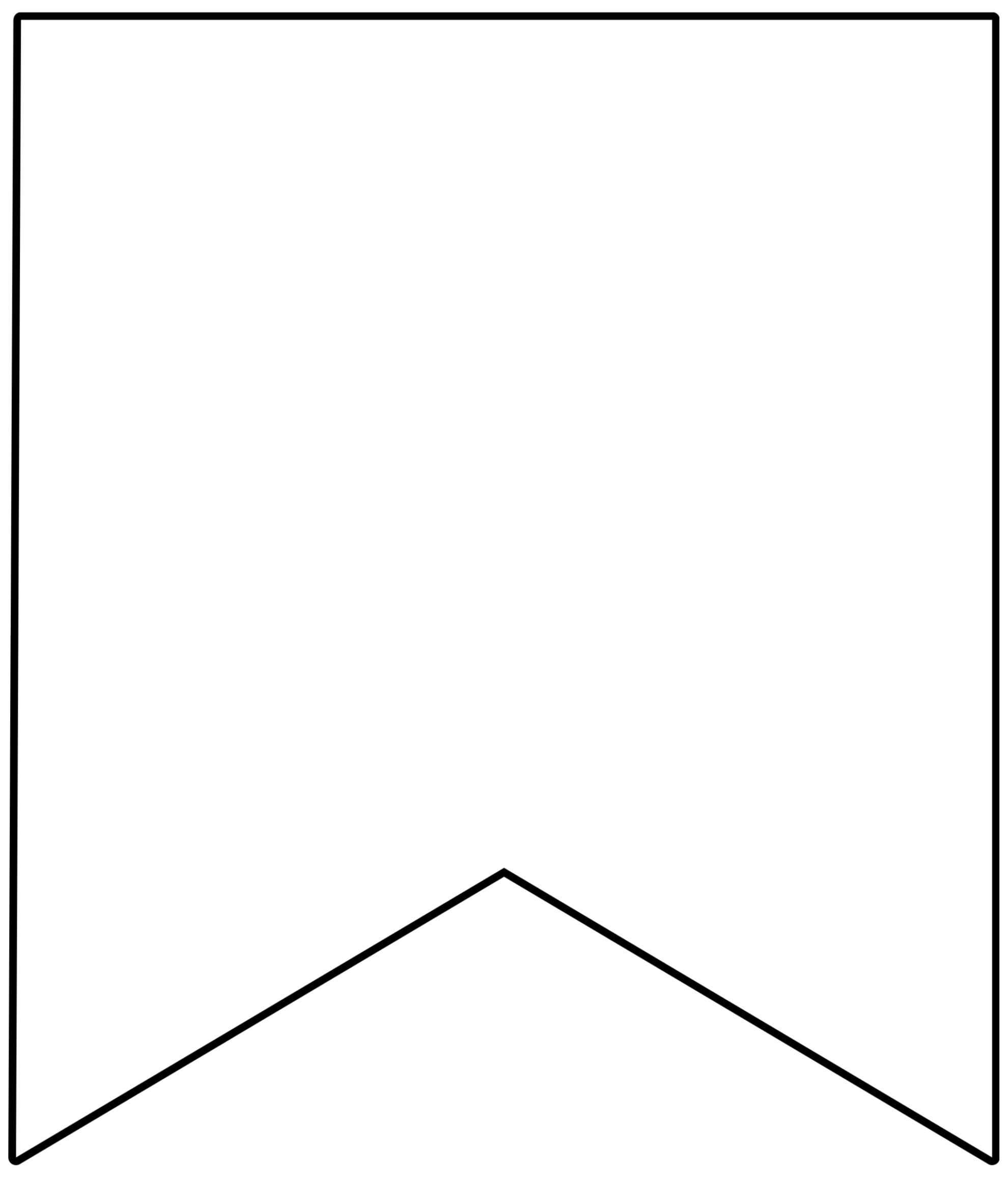 Free Printable Banner Templates {Blank Banners} - Paper Throughout Homemade Banner Template