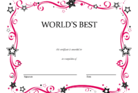 Free Printable Blank Award Certificate Templates Chainimage regarding Pages Certificate Templates