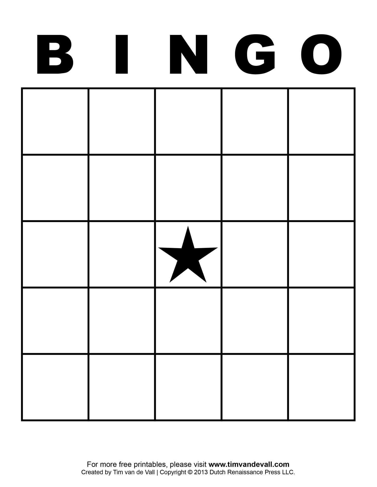Free Printable Blank Bingo Cards Template 4 X 4 | Free Bingo With Regard To Blank Bingo Template Pdf