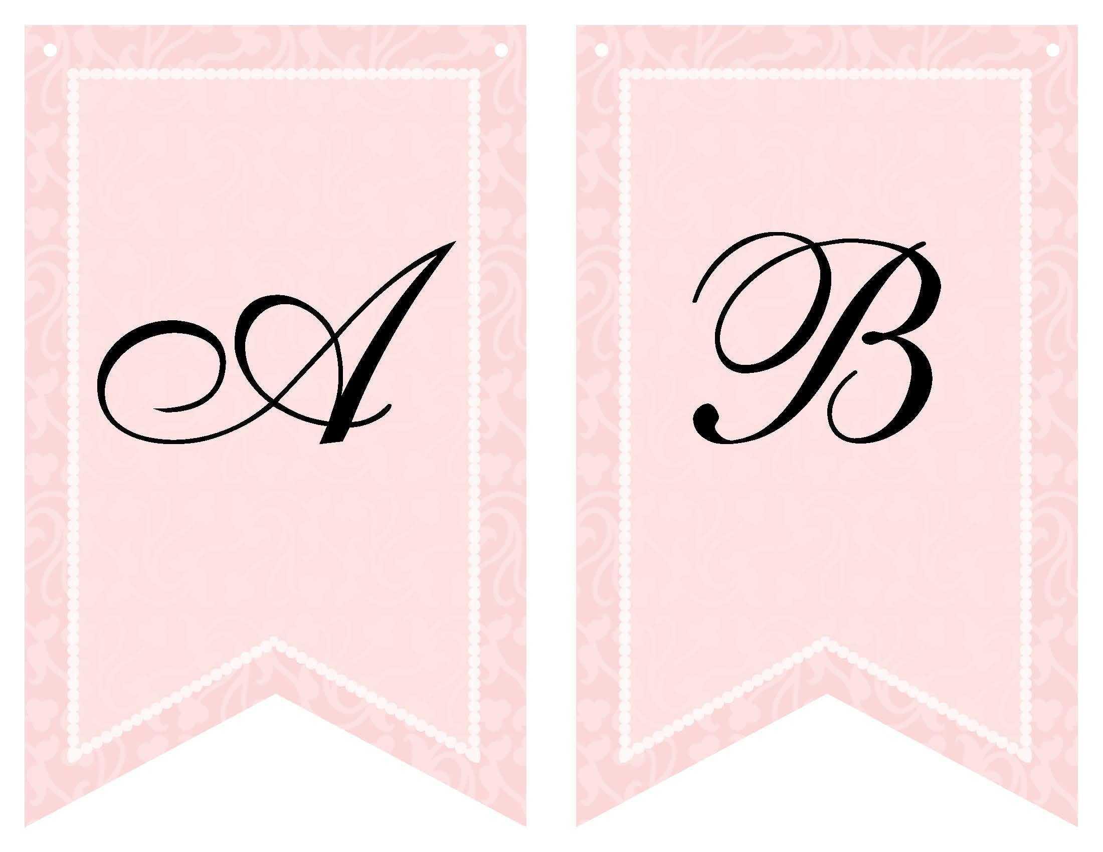 Free Printable Bridal Shower Banner | Bridal Shower Banner Regarding Bridal Shower Banner Template