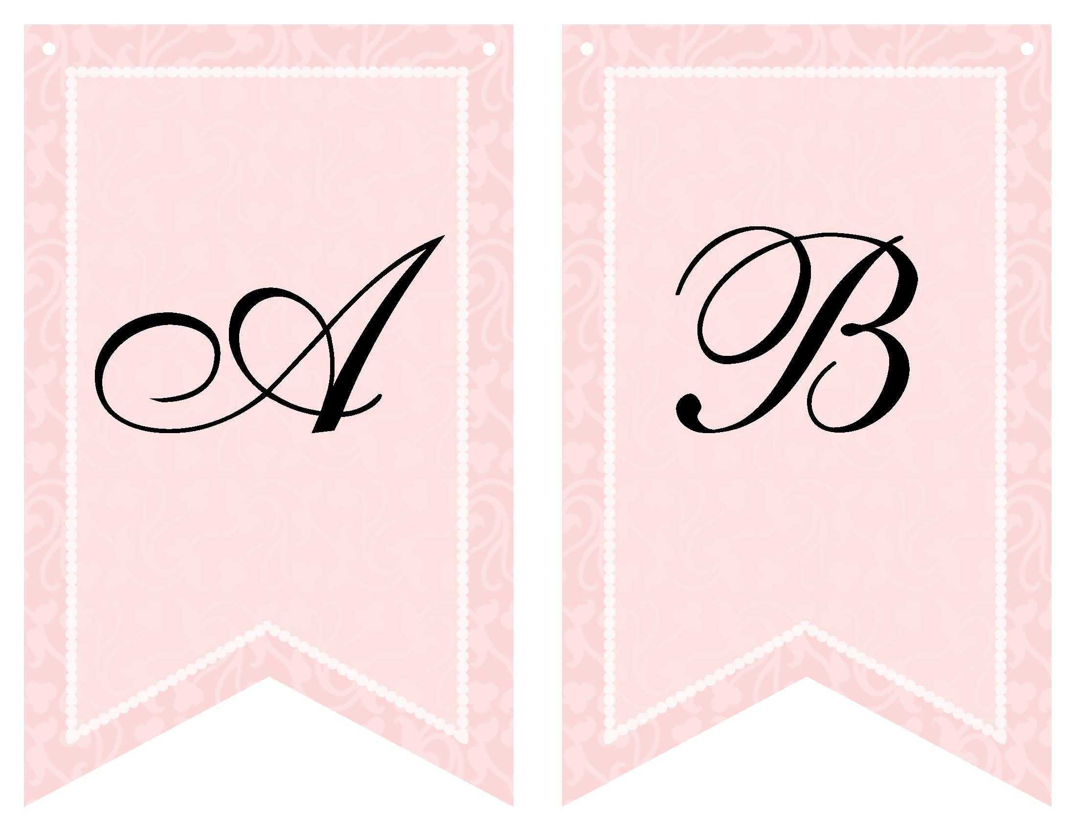Free Printable Bridal Shower Banner | Bridal Shower Banner Within Bride To Be Banner Template
