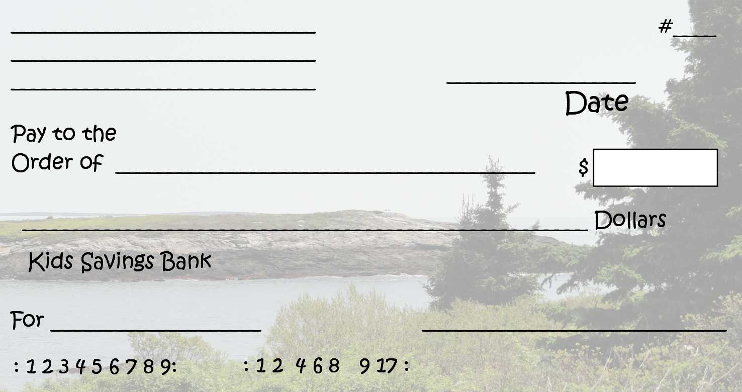 Free Printable Checks Template | Template Business within Fun Blank Cheque Template