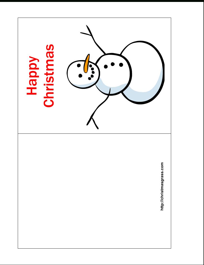 Free Printable Christmas Cards   Free Printable Happy regarding Print Your Own Christmas Cards Templates