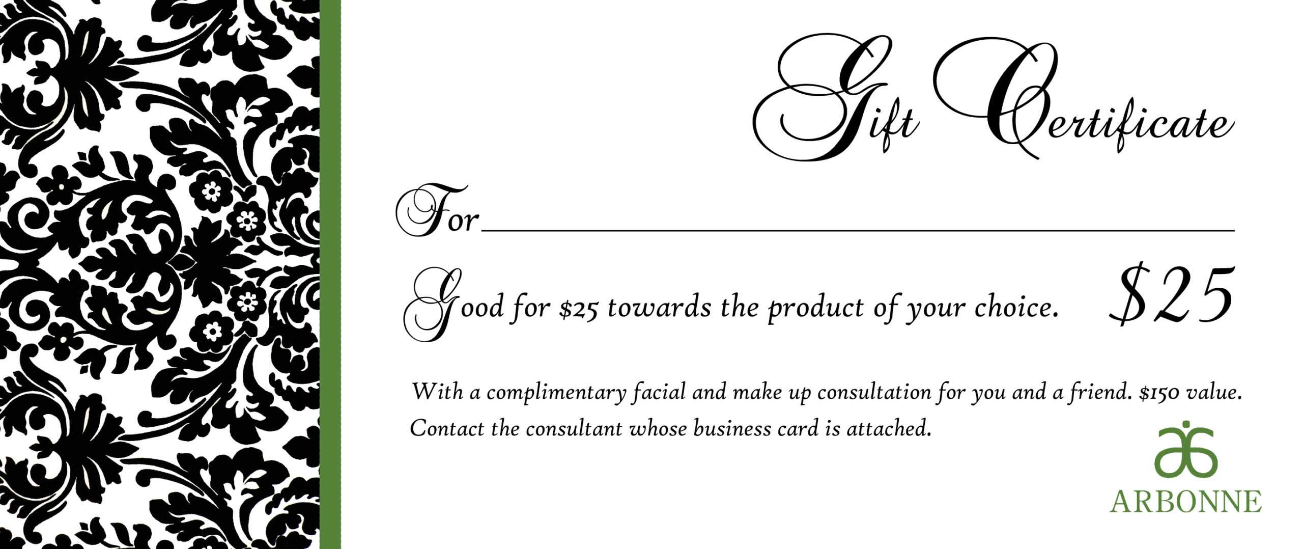 Free Printable Christmas Gift Voucher Template Uk throughout Black And White Gift Certificate Template Free
