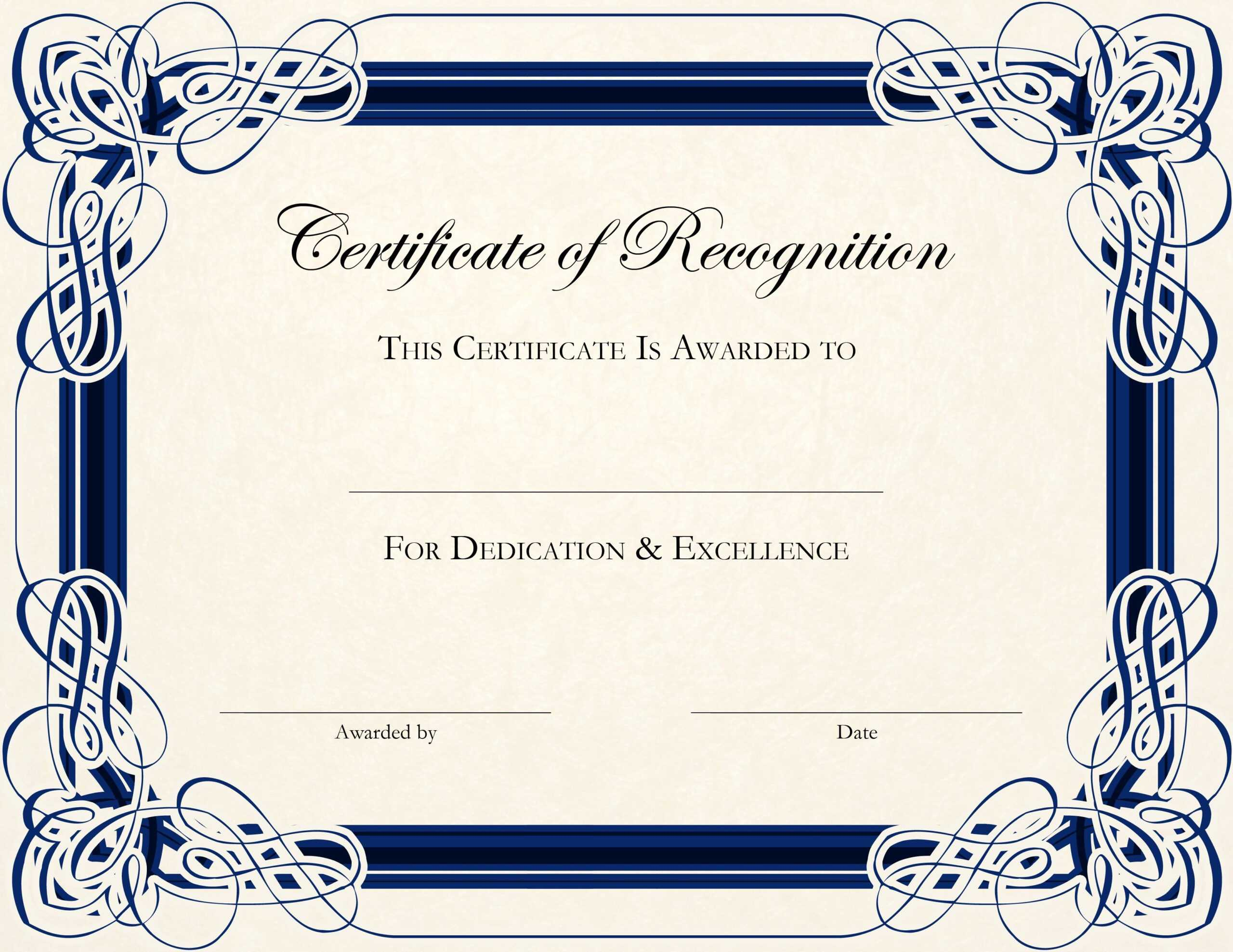 Free Printable Editable Certificates - Magdalene-Project within Softball Certificate Templates Free