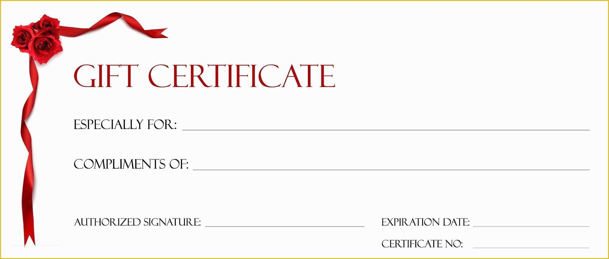 Free Printable Gift Certificate Template Pages Christmas Within Kids Gift Certificate Template