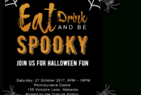 Free Printable Halloween Party Invitations 2018 ✅ [ Template] intended for Free Halloween Templates For Word