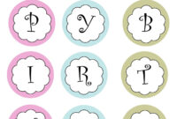 Free Printable Happy Birthday Banner Templates | Theveliger throughout Diy Banner Template Free