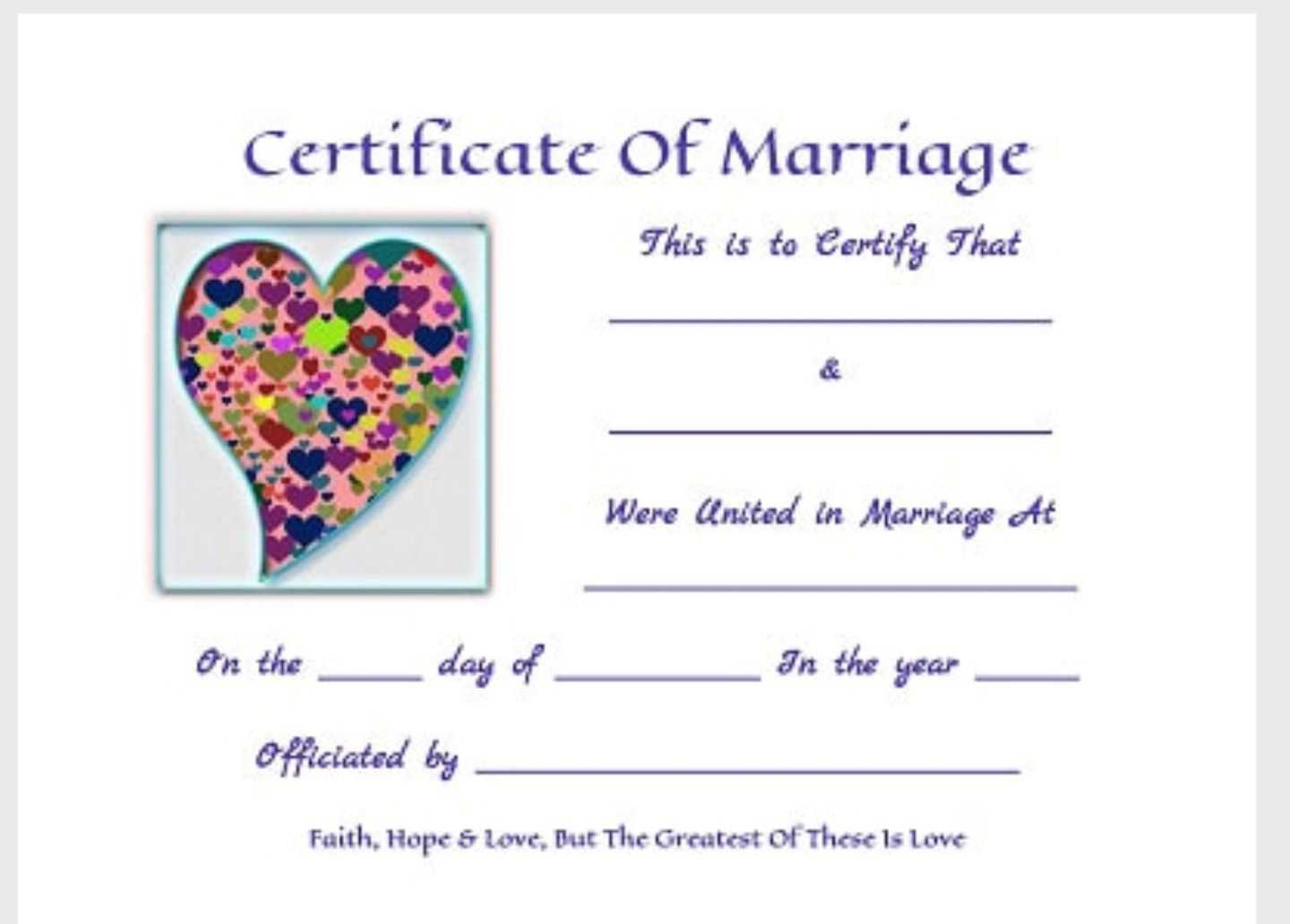 Free Printable Keepsakemarriage Certificates Www.thisjoyous inside Love Certificate Templates