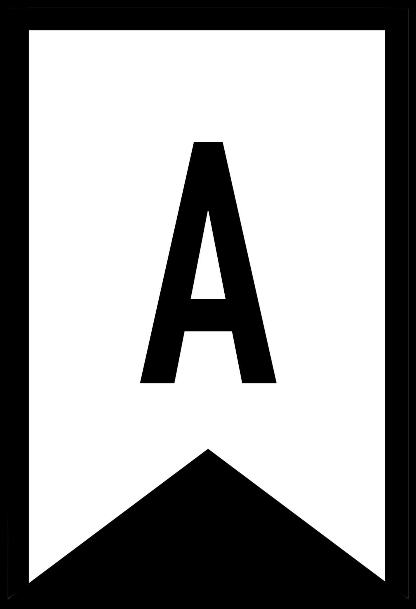 Free Printable Letters For Banners Entire Alphabet Letter inside Free Letter Templates For Banners
