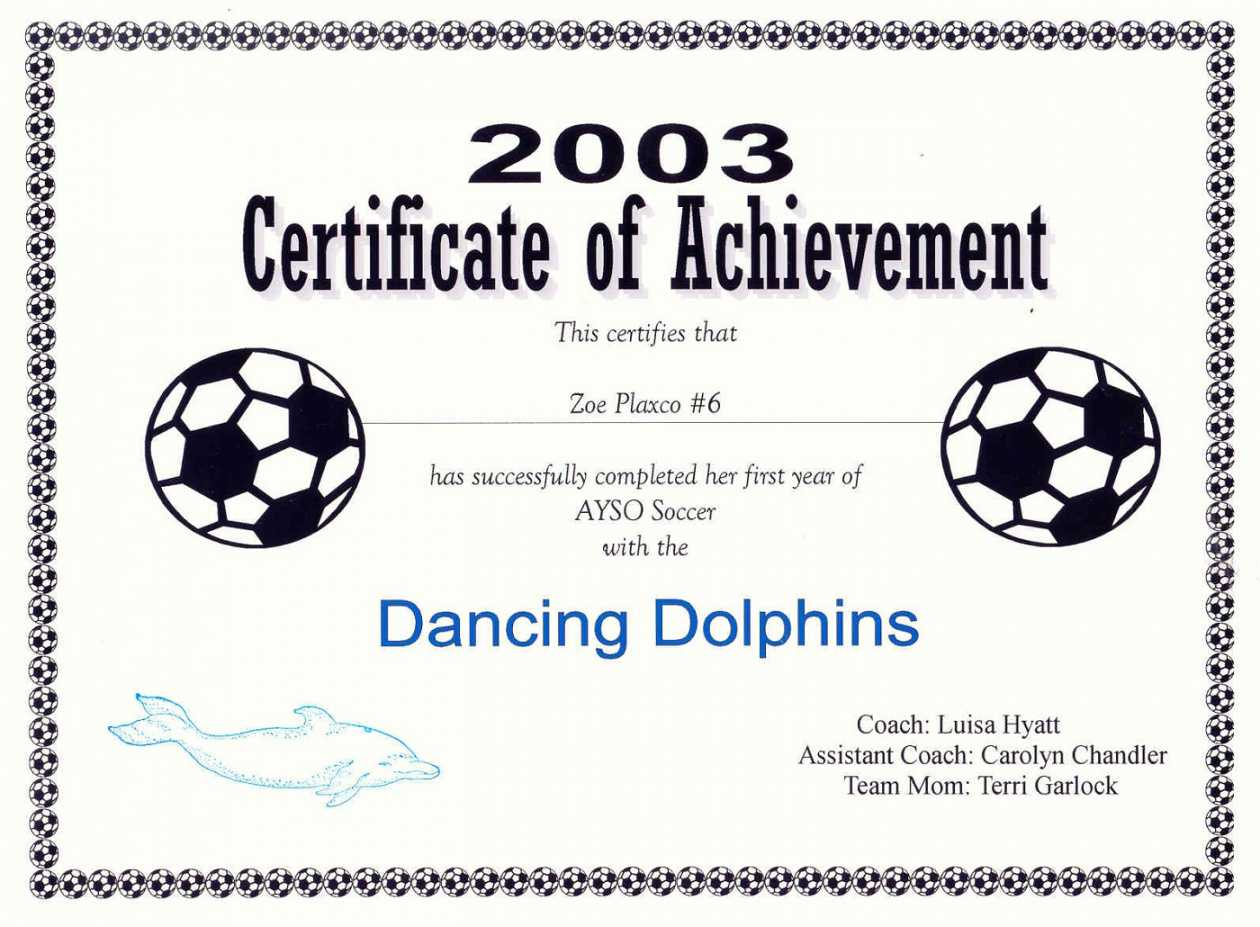 Free Printable Soccer Certificate Templates Editable Kiddo in Soccer Certificate Template
