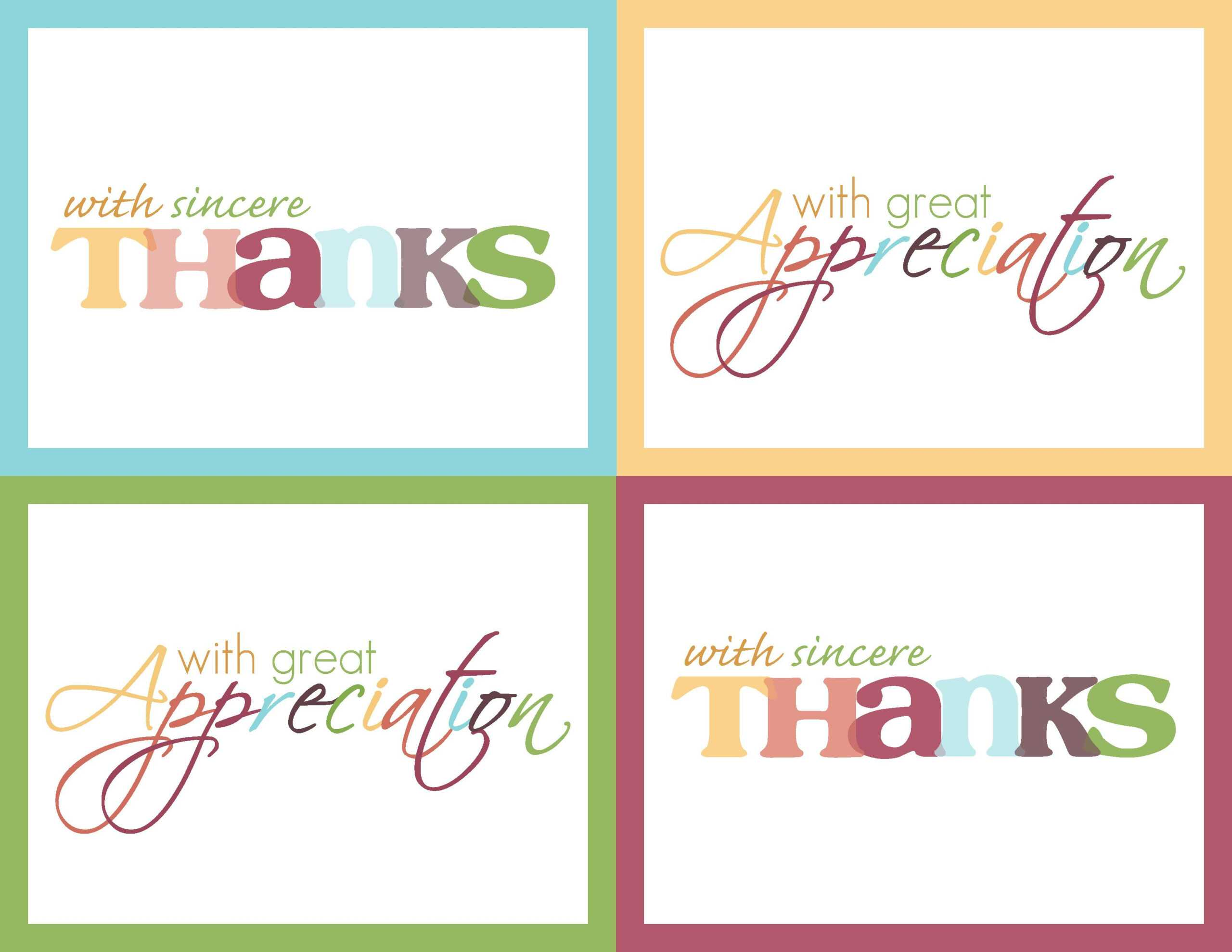 Free Printable Thank You Card Template - Magdalene-Project regarding Thank You Note Cards Template