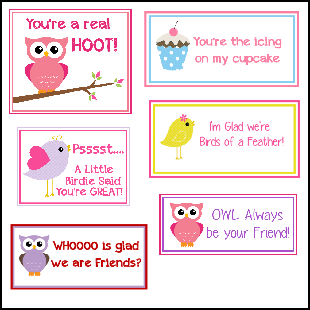 Free Printable Valentine's Cards (A Lot Of Them | Diy Owl Pertaining To Valentine Card Template For Kids