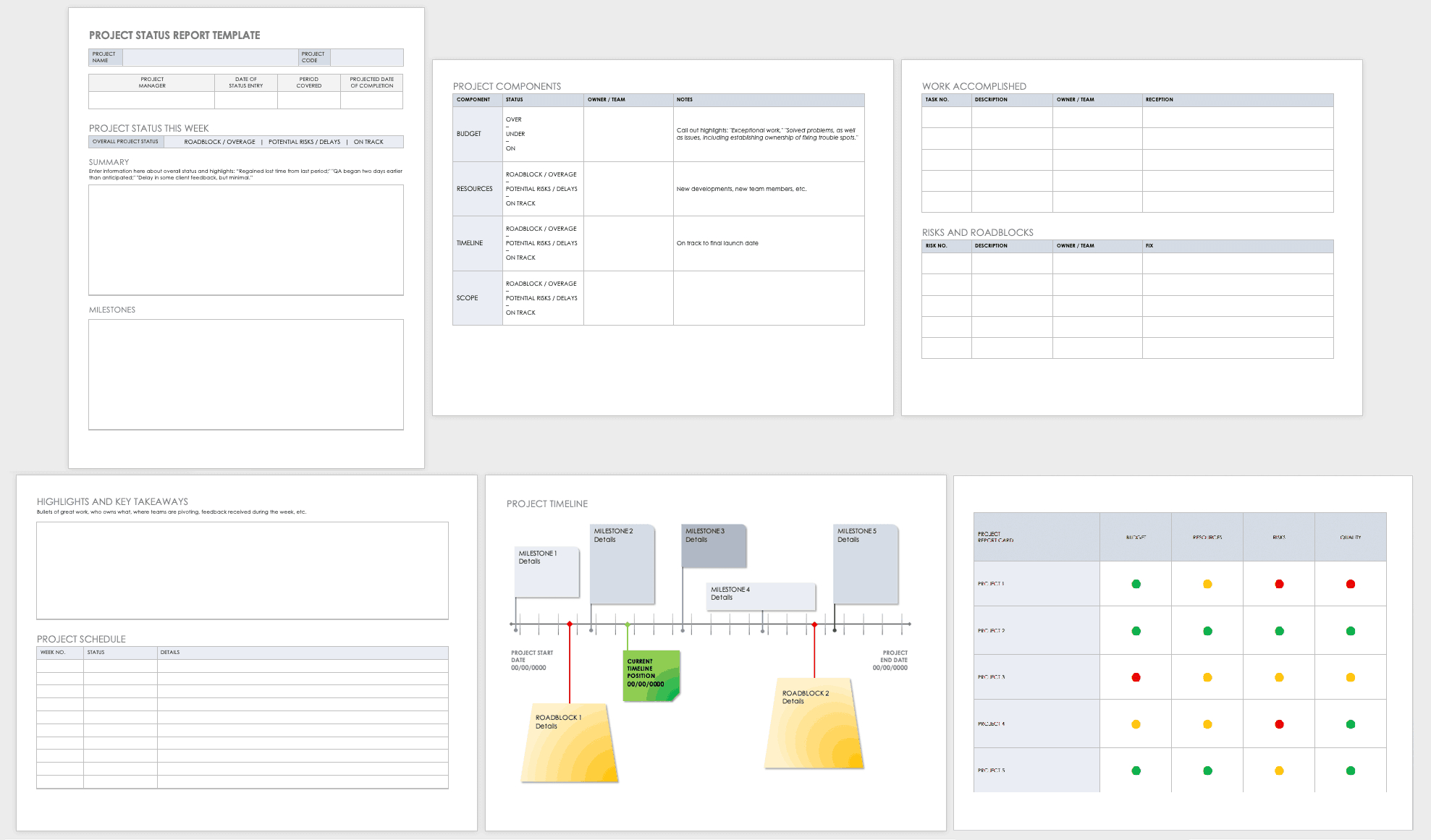 Free Project Report Templates | Smartsheet For Team Progress Report Template