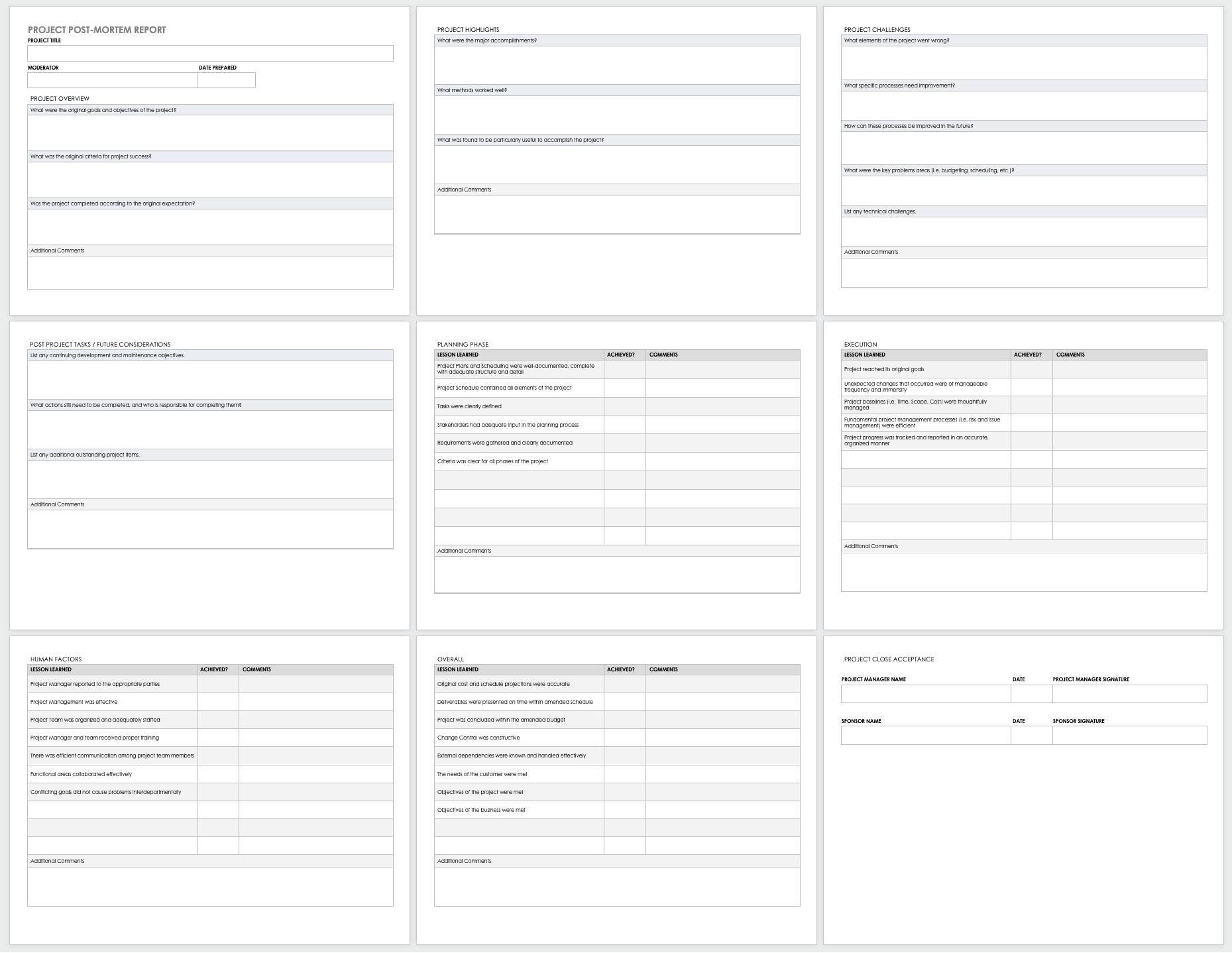 Free Project Report Templates | Smartsheet Within Post Project Report Template
