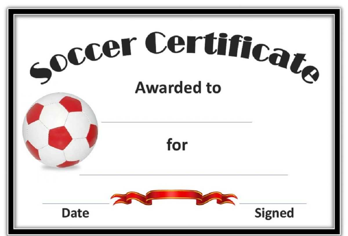 Free Soccer Certificate Templates | Soccer, Life Coach pertaining to Soccer Certificate Template
