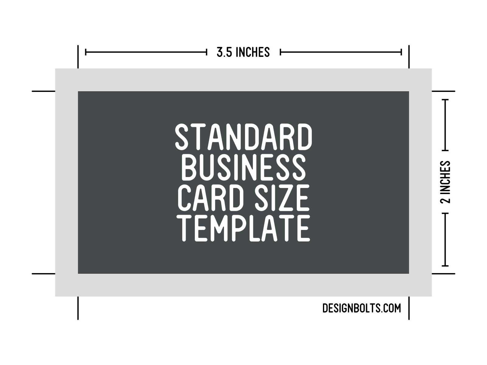 Free Standard Business Card Size, Letterhead & Envelop Sizes Throughout Business Card Size Template Psd