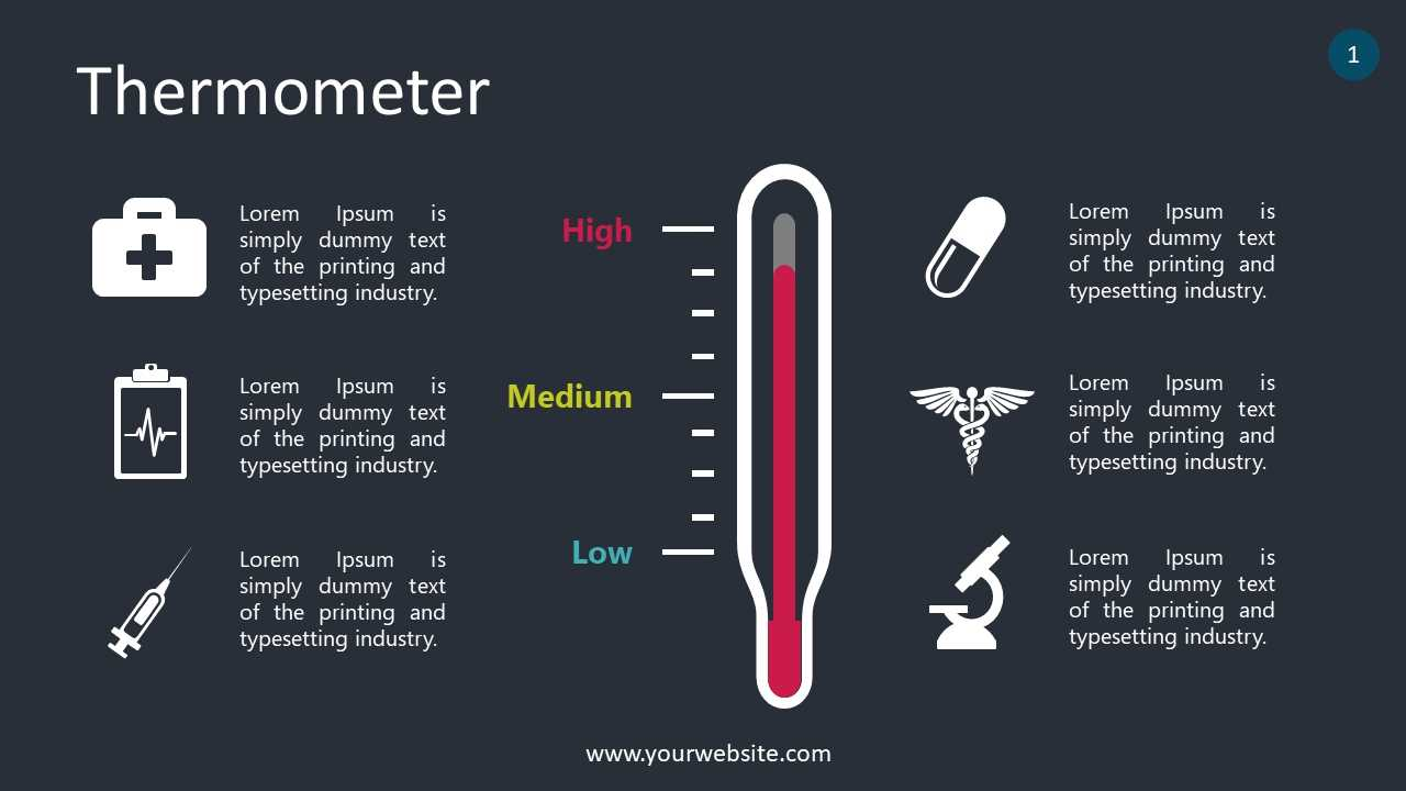 Free Thermometer Lesson Slides Powerpoint Template - Designhooks throughout Thermometer Powerpoint Template